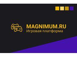 UI/UX игровой платформы Magnimum