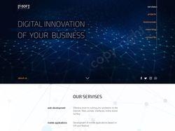 Site for IT-studio