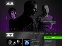 Promo site for MUSE