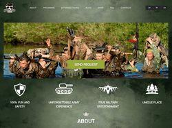 Главная страница Armyland