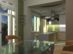 Визуализация кухни