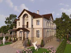 Загородный дом в Козыне под Киевом.