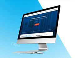 Дизайн главной страницы сайта компании Акнова