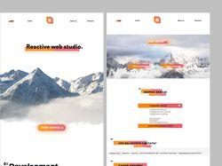 Дизайн вебстудии