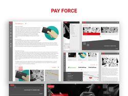 """Веб-сайт """"PayForce"""""""