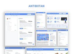"Веб-сайт ""Antibotan"""