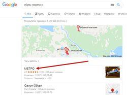Сайт metro-obuv.ru