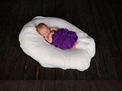 Ретушь новорожденного малыша