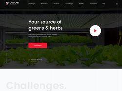 Website for Robotic Farming