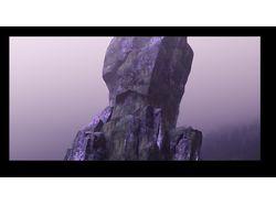 sci-fi a stone