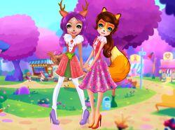 Персонажи игр для девочек 2
