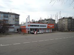 Дизайн фасадов фирменного автомобильного магазина