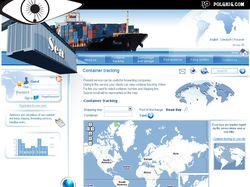 Дизайн сайта для морской компании