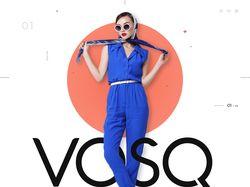 Дизайн для интернет-магазина одежды VOSQ