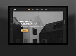 Frederiksvej Kindergarten by COBE - Landing Page