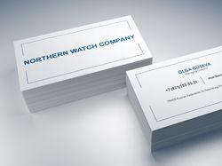 Визитка Северная Часовая Компания