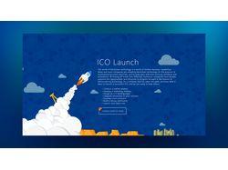 landing ICO
