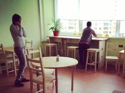 интерьер кухни для сотрудников нии Восход