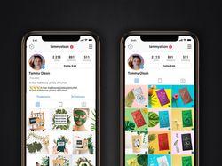 Оформление страничек Instagram
