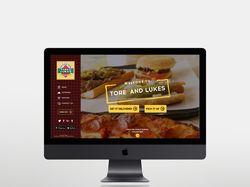 Дизайн сайта TORE & LUKES