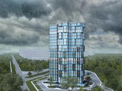Визуализация многоквартирного жилого дома