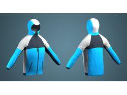 3d модель куртки