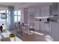 Интерьер финской квартиры (все модели уникальны)