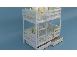 Модель детской кровати