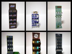 Визуализация торгового оборудования с товаром