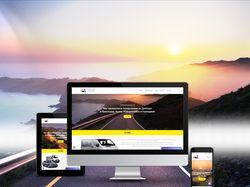 Создание сайта для пассажирских перевозок