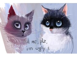 Ugly cats