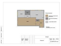 План пола (квартира 92 кв.м.)