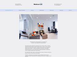 HTML-Верстка сайта медицинского центра в Германии