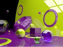 3D иллюстрация в Cinema 4d.