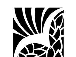 Форэскиз логотипа театра. А. П. Чехова