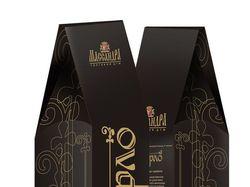 Подарочная упаковка вина Мерло Массандра