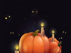 Хеллоуинские тыквы в Adobe Illustrator