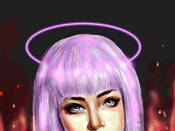 Цифровой портрет в программе SketchBook