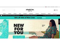 Интернет магазин Simply be