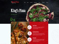 Редизайн американского сайта пиццы
