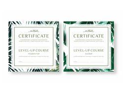 """Сертификат """"ZeNails"""""""