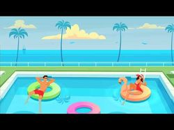 Swimming pool online