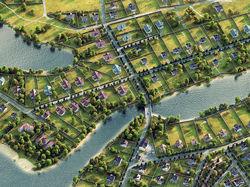 Карта коттеджного поселка