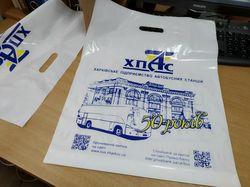 Пакет с логотипом в фирменном стиле
