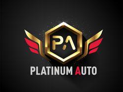 """Лого мошенников """"PlatinumAuto"""" (800 грн.\1500р.)"""