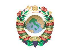 Логотип мероприятия в стиле СССР