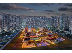 Фотосъемка жилых комплексов (Россия, Москва)
