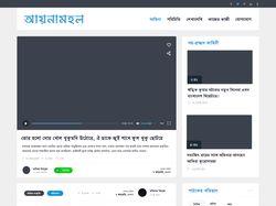 Aynamohol верстка и посадка на WordPress