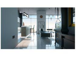 Интерьер однокомнатной квартиры (open space)