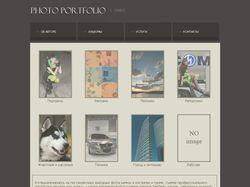 Сайт-портфолио фотографа